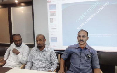 Cyber Security- A knowledge sharing workshop on July 4th 2015