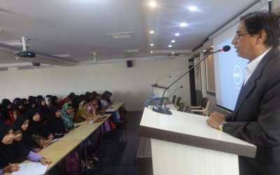 """Guest Lectures- Our theme this year """" One Step Ahead"""