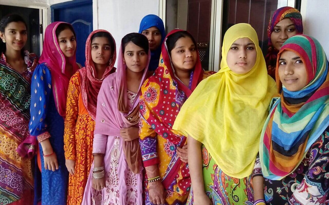 """Colorful week in college   August 6th 2015- Students came dressed in various colours of the rainbow and celebrated """"The Rainbow Day"""""""