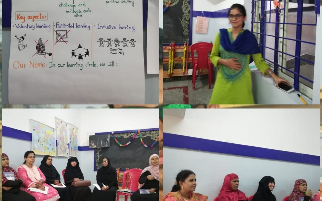 WEEKLY CONFERENCE  WITH TEACHER FROM MANTRA FOR CHANGE