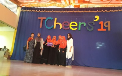 BET HPS 5 faculties Attended TCHEERS Competition  [Learning through play activity ]
