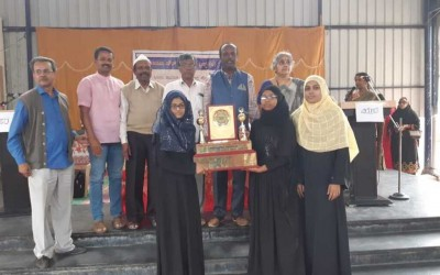 Bet Sufia High School  wins  Mir Badruddin Ali memorial rolling sheild 2019