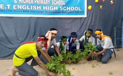 WORLD FARMER'S DAY CELEBRATED IN MADINA NAGAR BET PRIMARY AND HIGH SCHOOL