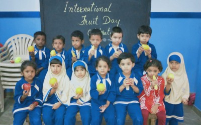 INTERNATIONAL FRUIT DAY CELEBRATED
