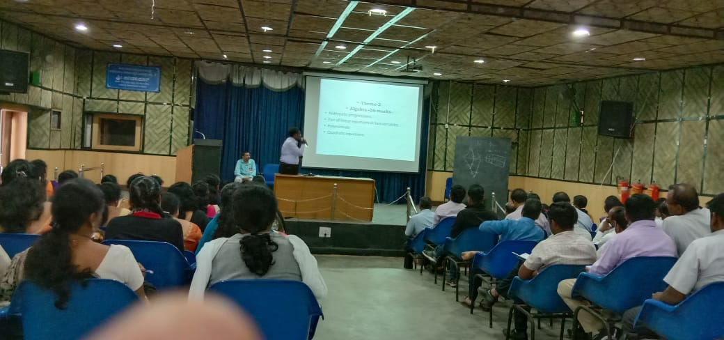 High school Orientation program for Maths & science attended