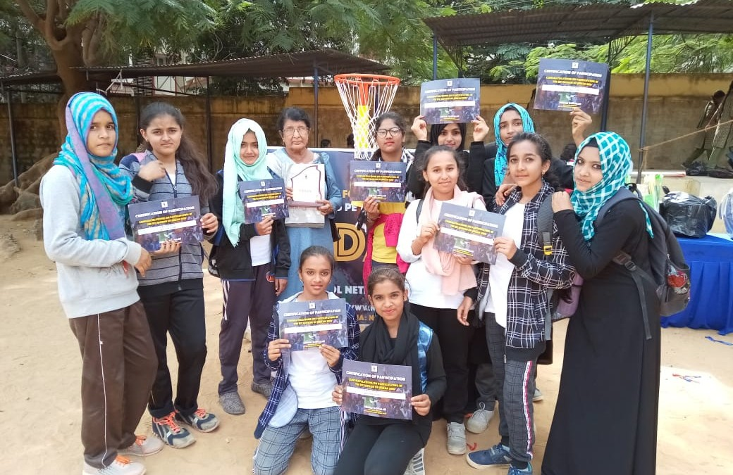 BET Sufia High School participated in udaan youth netball championship