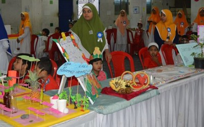 "BET Nursery School Exhibition "" Tiny Tots Paradise"" held on 18-Jan-2020"