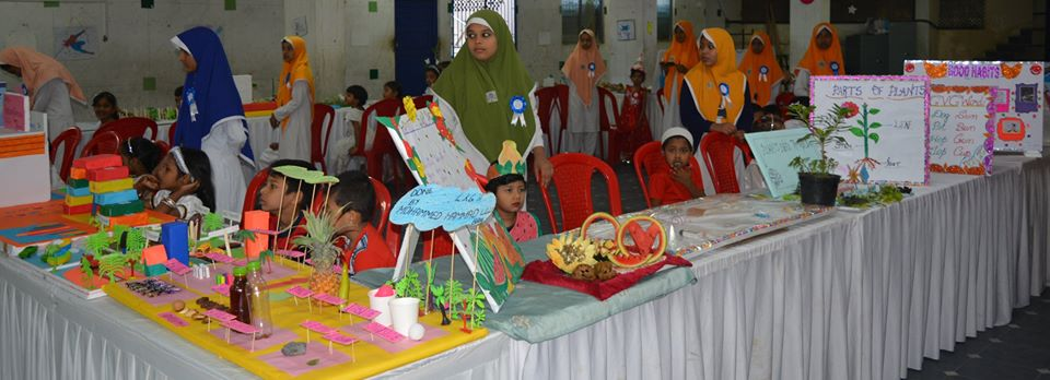 "BET Nursery School Exhibition "" Tiny Tots Paradise"" held on 18-Jan-2020"