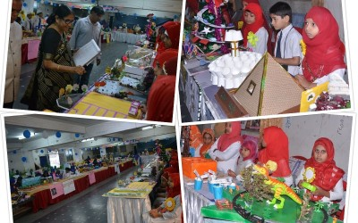 """BET HPS conducted exhibition """"Spectra- 2019"""" on 28/12/2019"""