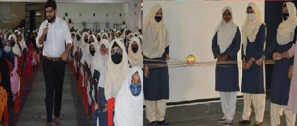 Motivational Programme was conducted by Nabeel Ahmed Baig